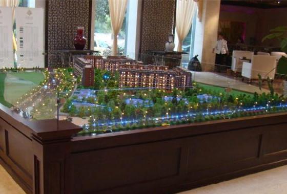 简析海南地产沙盘模型制作步骤